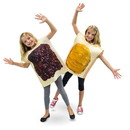 Brybelly Peanut Butter and Jelly Children's Costume, 10-12