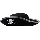 Brybelly Hard Shell Tricorne Pirate Hat