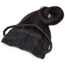 Brybelly #1B Off Black - 20 inch Braided Tiara