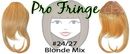Brybelly #24/27 Blonde Mix Pro Fringe Clip In Bangs