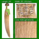 Brybelly #24 Light Blonde - 24 inch