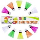 Brybelly Neon Plastic Shuttlecocks