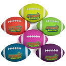 Brybelly 6 Youth Size Neon Footballs
