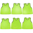 Brybelly 6-pack Adult Scrimmage Pinnies, Green