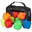 Brybelly SBBL-311 Reaction Ball 5-pack with Carry Case