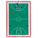 Brybelly Magnetic Roll-up Clipboard, Basketball