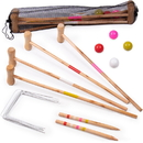 Brybelly Kids Croquet Set for 4-Players