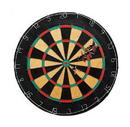 Brybelly Tournament Bristle Dartboard w 6 Regulation Steel tip darts