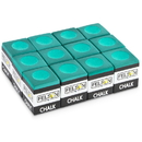 Brybelly Pool Cue Chalk 12-pack, Green