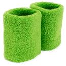 Brybelly Wrist Sweatbands 2-pack, Green