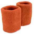 Brybelly Wrist Sweatbands 2-pack, Orange