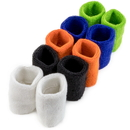 Brybelly Wrist Sweatbands, 10-pack