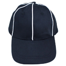 Brybelly Official Black with White Stripes Referee / Umpire Cap