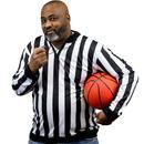 Brybelly Men's Long Sleeve Referee Jersey, XXL