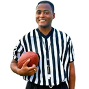 Brybelly Men's V-neck Referee Jersey, large