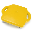 Brybelly 4pack 16in Gym Class Scooter Board w/Safety Handles - Yellow