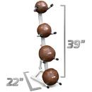 Brybelly 4-Tier Medicine Ball Storage Rack