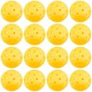 Brybelly 12-Pack of Pickleball Balls, Goldenrod Yellow