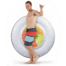 Brybelly Jumbo Sushi Roll Pool Float