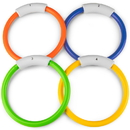 Brybelly Deep Down Divers- Set of 4 Sinking Pool Rings