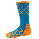 Brybelly Large Basketball Compression Socks, Blue/Orange