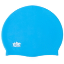 Brybelly Silicone Swim Cap, Light Blue