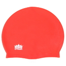 Brybelly Silicone Swim Cap, Red