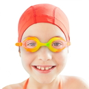 Brybelly Colorful Kids Goggles with Case, Tropical