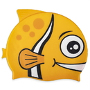 Brybelly Kids Fishy Swim Cap, Yellow