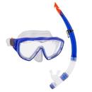 Brybelly Adult Semi-Dry Diving & Snorkel Set, Marine