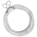 Brybelly 47' Replacement Tennis Net Cable, White