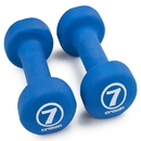Brybelly Pair of 7lb Royal Blue Neoprene Body Sculpting Hand Weights