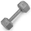 Brybelly 15lb Cast Iron Hex Dumbbell
