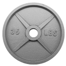 Brybelly 35lb Olympic Style Iron Weight Plate