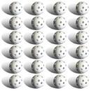 Brybelly 24 Polyurethane White Plastic Golf Balls