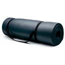 Brybelly Extra Thick (3/4in) Yoga Mat - Black
