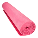 Brybelly 1/8-inch (3mm) Compact Yoga Mat with No-Slip Texture - Pink