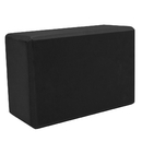 Brybelly Large High Density Black Foam Yoga Block 9 x 6 x 4