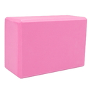 Brybelly Large High Density Pink Foam Yoga Block 9 x 6 x 4