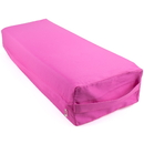 Brybelly Large 26-inch Pink Yoga Bolster and Meditation Pillow