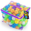 Brybelly Space Adventure Soft Play Balls, 200-pack