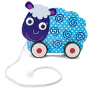 Brybelly Wooden Wonders Push-n-Pull Swirly Sheep