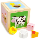 Brybelly Busy Barnyard Sorting Cube
