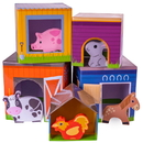 Brybelly Friendly Farm Match 'n Stack Nesting Blocks