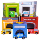 Brybelly Little City Match 'n Stack Nesting Blocks