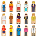 Brybelly Little Professionals Wooden Character Set