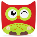 Brybelly Wooden Owl Clothing Rack