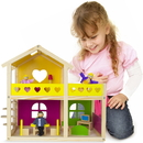 Brybelly Wooden Wonders Cozy Cottage Dollhouse