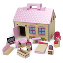 Brybelly Take-Along Country Cottage Dollhouse