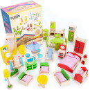 Brybelly Home Sweet Home Dollhouse Furniture Collection, 41 pcs.